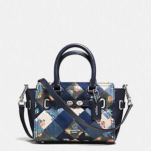 Coach-Bag-F57898-Mini-Blake-Carryall-in-Denim-Patchwork-Multi-colored-Agsbeagle