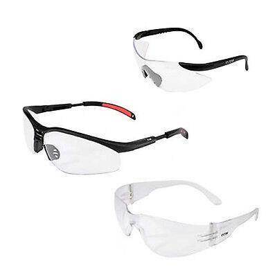 Schutzbrille Sichtschutz Arbeitsschutzbrille Brille Schutz Modell+Menge wählbar
