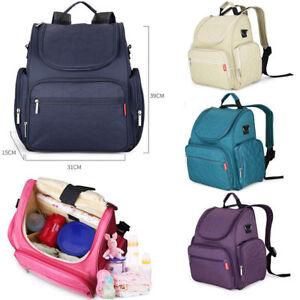 Backpack Baby Nappy Changing Bag Diaper Bag Mummy Bag Multifunction Waterproof