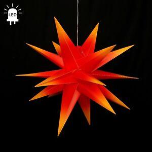 LED-etoile-de-l-039-Avent-plie-60-Star-en-plein-air-Noel-18zack-rouge-jaune-100230