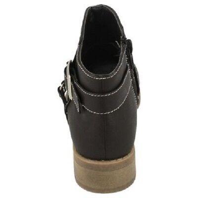 Ausverkauf Spot on h5034 Mädchen schwarz Synthetisch Reißverschluss