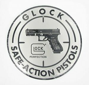 NEWGlock-Factory-OEM-Safe-Action-12-Inch-30-CM-Diameter-Circular-Aluminum-Sign