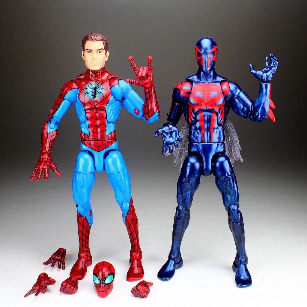 Marvel Legends Infinite Series Unmasked Homecoming & Spiderman 2099 6 6 6  Figure af1021