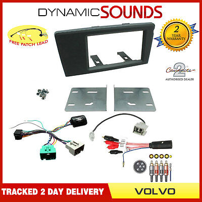 CT23VL05 Volvo XC70 2000-2004 Car Stereo Double Din Fascia ISO Interface Kit