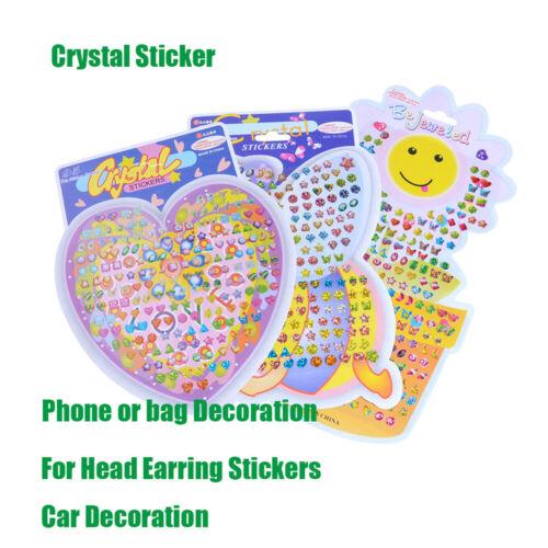 aufkleber sticker belohnung kopf crystal ohrring diamantenes auto