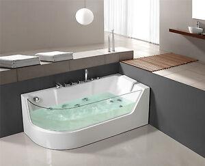 Vasca idromassaggio di lusso vasca da bagno whirlwanne piscina lxw