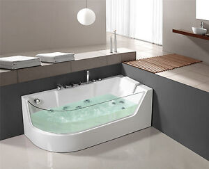 whirlpool whirlwanne dusche jacuzzi pool badewanne acryl. Black Bedroom Furniture Sets. Home Design Ideas