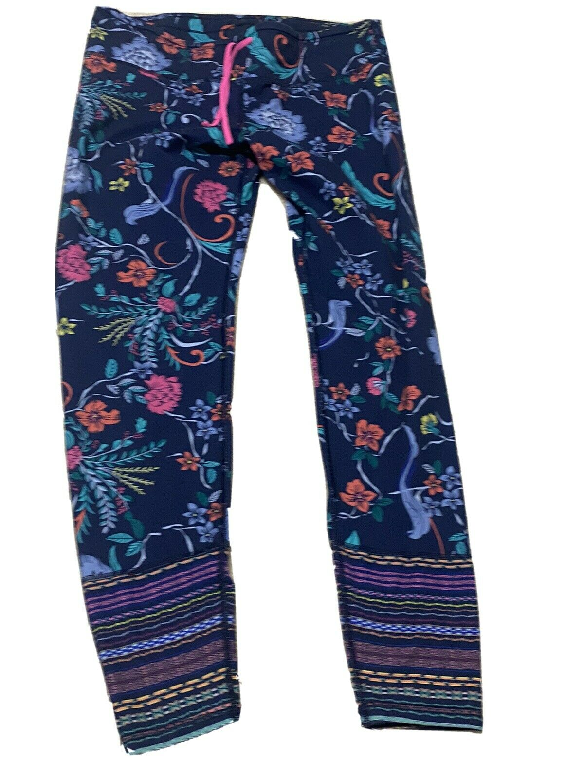 Old Navy Active Go Dry Fitted Floral Workout Pants XL