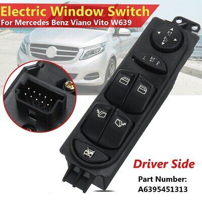Power Master Window Control Power Regulator Window Button for Mercedes Benz Viano Vito W639 A6395451313 Window Switch