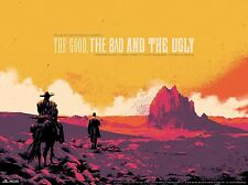 Good Bad Ugly Movie Poster Print Matt Taylor Sergio Leone Clint Eastwood Mondo
