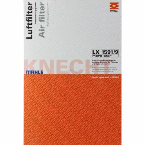 Original MAHLE Luftfilter LX 1591//9 Air Filter