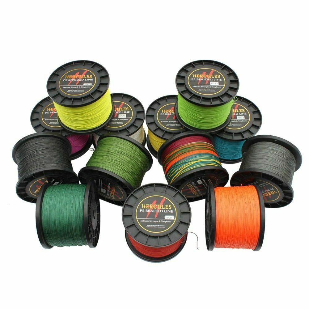 8 strands braided  fishing line 2000m 10-200lb super Hercules braid fishing line  low prices