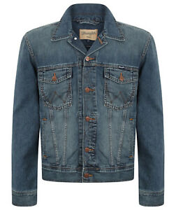 238e0874a42 Image is loading MENS-WRANGLER-WESTERN-STYLE-DENIM-JACKET-GREAT-QUALITY-
