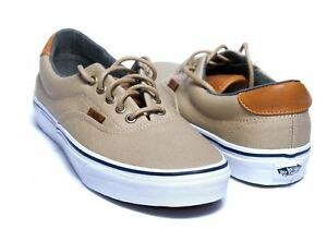 f7a5759812 Vans Era 59 Mens Canvas Skater Casual Trainers Low-Tops Lace Up ...