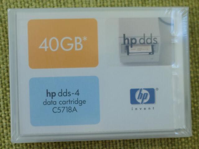 New sealed HP DDS-4 Data Cartridge C5718A 40GB