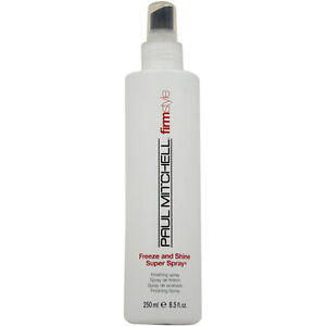 Paul-Mitchell-Firm-Style-Freeze-and-Shine-Super-Spray-8-5oz-Brand-New-Cheap-Wow