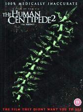 THE HUMAN CENTIPEDE 2 FULL SEQUENCE TOM SIX ASHLYNN YENNIE BOUNTY DVD VGC