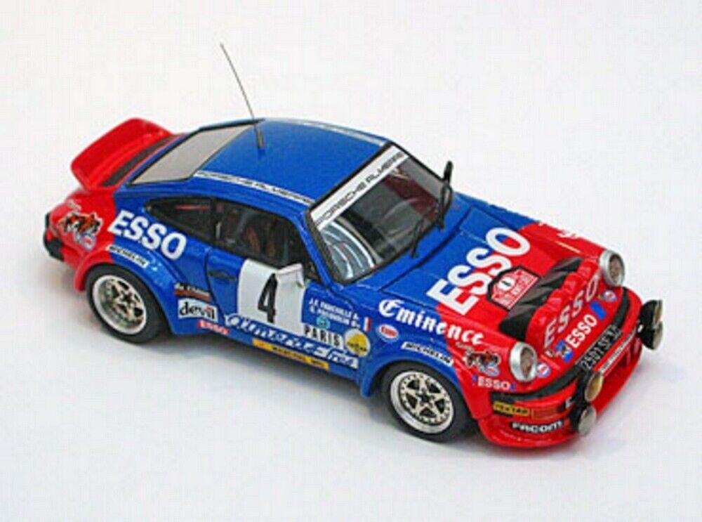 kit Porsche 911 SC Gr.4 Esso-Eminence  4 Rally Montecarlo 1982 - Arena kit 1 43