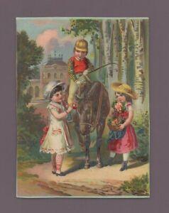 Kitschbild - Kinder Und Ihr Pony (i7101)