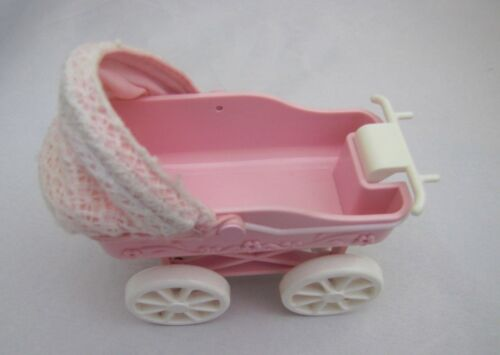 BARBIE BABY CARRIAGE from Kelly Doll Tiny Steps Set 2002 Mattel Barbie's Sister