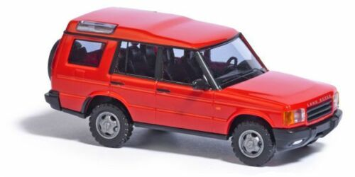 BUSCH 51900 LANDROVER DISCOVERY ROT 1:87