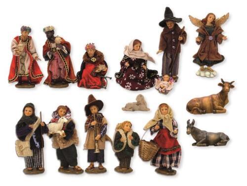 Dressing personnages crèches personnages set alpenländisch 15 pièces Taille environ 10 cm