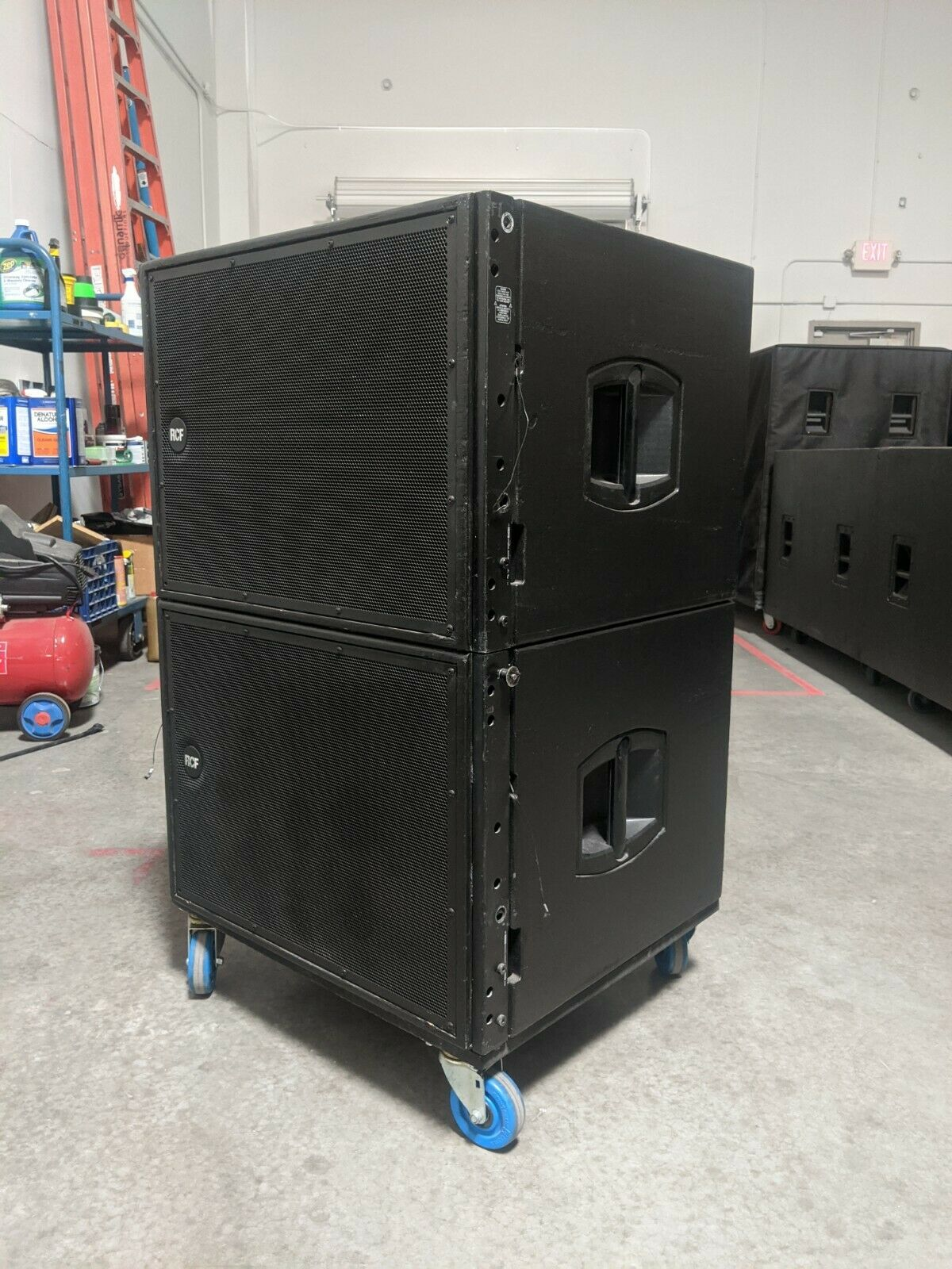 2x RCF HDL 18-AS Subwoofer, 18 *PAIR*. Available Now for 3200.00