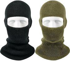 Winter Face Mask Warm Cold Weather One Hole Facemask OD Black Ski Snow Masks
