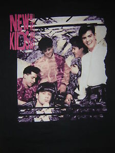 3ea97a5ff Vintage Concert T-Shirt NEW KIDS ON THE BLOCK 90 NKOTB NEVER WORN ...