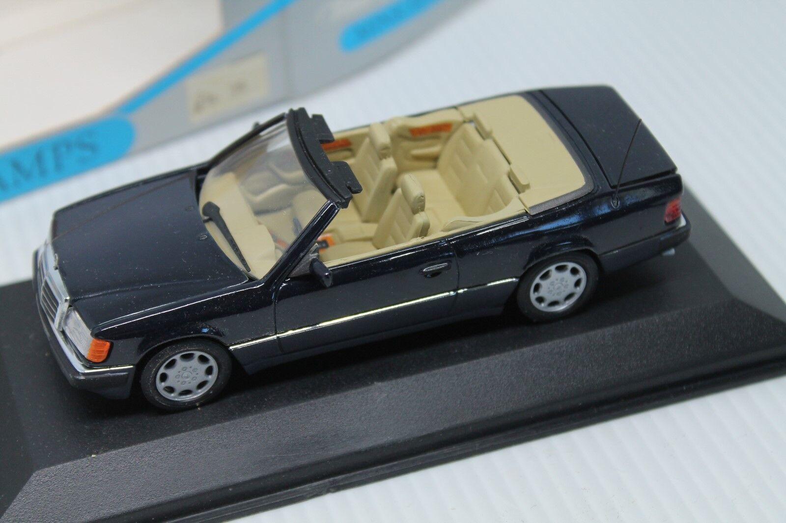 MINICHAMPS  MERCEDES-BENZ MB 300 ce-24 Cabriolet  w124  BLEU NUIT | Un Approvisionnement Suffisant