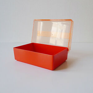 boite rangement vintage en plastique miflex ebay. Black Bedroom Furniture Sets. Home Design Ideas