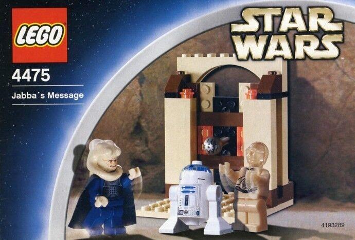 Lego Star Wars 4475 Jabba's Message   BRAND NEW  MISB  VERY RARE