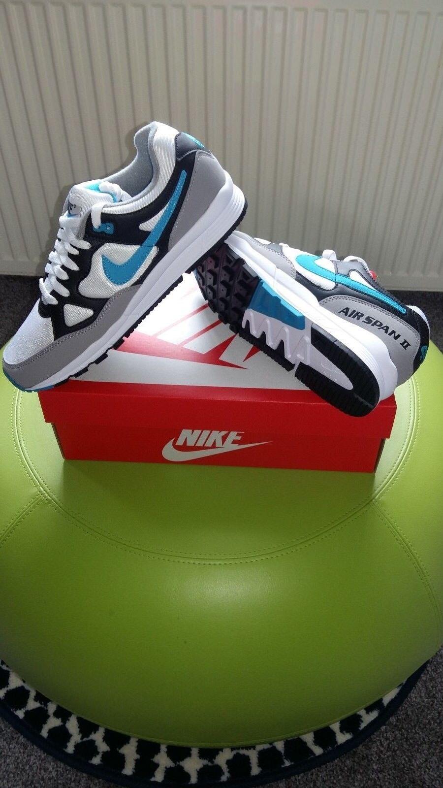 Nike Air Span 2... Sportive Retrò Scarpe Da Ginnastica Sportive 2... Misura 11 Regno Unito eur-46 6edc11