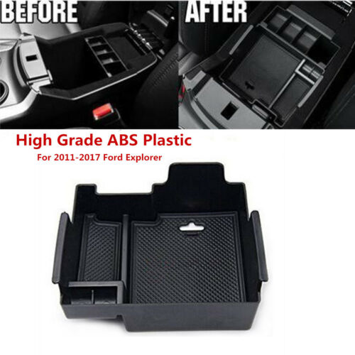 Armrest Secondary Storage Box Glove Pallet Center Console Tray For Ford Explorer