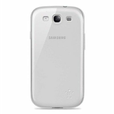 Belkin Samsung Galaxy S3 Slim Grip Sheer TPU Case/Cover/Skin Clear