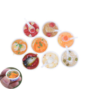 1:6 Scale Dollhouse Miniature Chinese Play Food Toy Doll Food Miniature ESUS