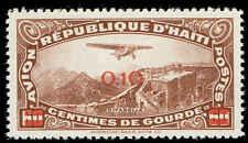 Scott # C24 - 1944 - ' Plane over Christophe's Citadel '