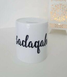 PERSONALISED-Sadaqah-SAVINGS-FUND-JAR-CERAMIC-MONEY-BOX-islamic-gift-muslim