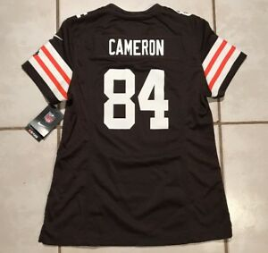 La foto se está cargando Nuevo -Con-Etiquetas-Nike-Cleveland-Browns-Jordan-Cameron- 7d5ddd7f1b1