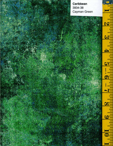 Northcott Stonehenge Maui 3953-100 Quilt fabric Cotton BTY Surf Green