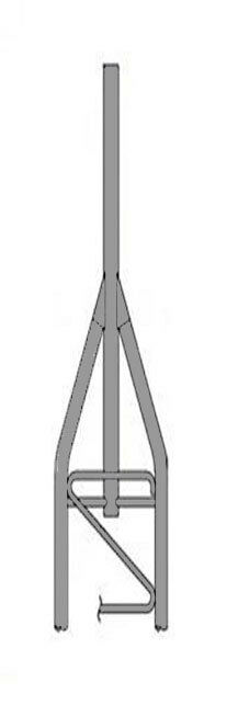 ROHN 45AG2 9' 6 Tower Section -  45G Tower Top Section - NEW OEM R-45AG2. Available Now for 390.00