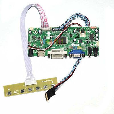 DVI+VGA+Audio LCD Controller Board Driver For LTN140AT07 LTN140AT07-H01 40Pin