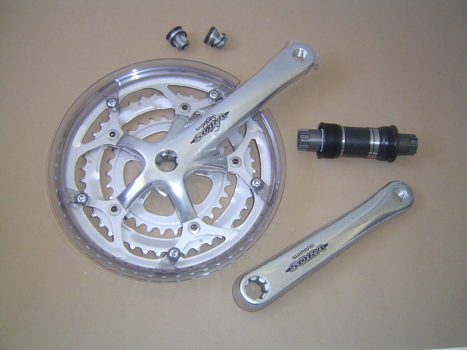 Shimano SORA Crank Fc - 3304 3 x 7 8 x 52 42 30 with Chain Protection incl. Warehouse
