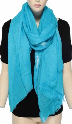 Women Candy Colors Long Soft Viscose Scarf Long Wrap Shawl Pashmina