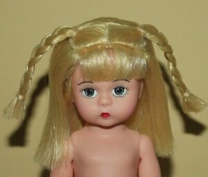 8 Madame Alexander MA Nude Dress Me Bent-Knee Doll