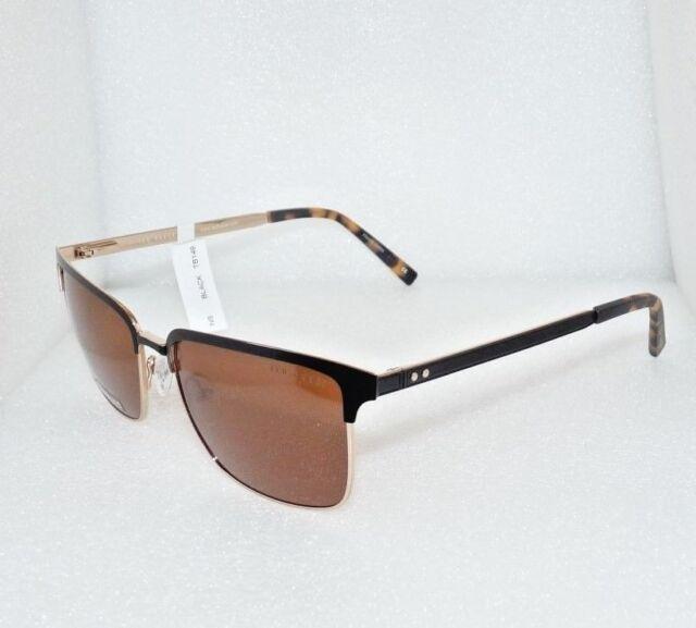 9ee0c2199f40 Ted Baker TB149 Semi-rim Uni-sex Sunglasses Black 56-17-140 B 42 for ...