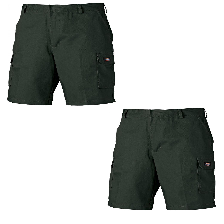 Dickies Redhawk Twin Pack Cargo Lavoro Pantaloni corti Uomo Olive (varie dimensioni)