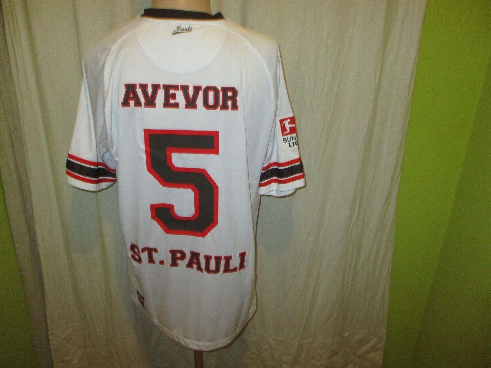 FC St.Pauli St.Pauli St.Pauli DoYou Football Auswärts Trikot 2012 13 + Nr.5 Avevo Gr.XL TOP c42780