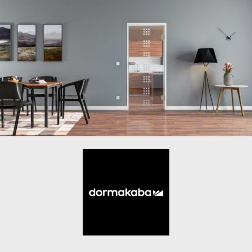 RXXOS opt. dormakaba Glastür Office//Studio Design Stuttgart Komplett-Set