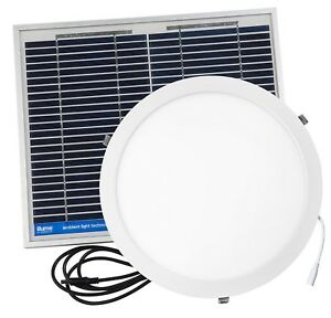 Illume HI-SPEC ROUND SKYLIGHT ALTERNATIVE Solar Powered ...